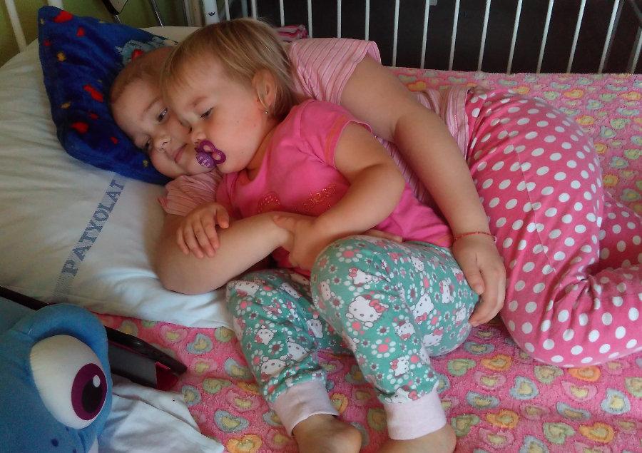Az őssejt-transzplantációra Alcsi hetedik születésnapján került sor